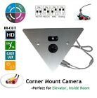 Wide Angle Night Vision IR Elevator/Corner Mount Camera -Perfect for Elevator
