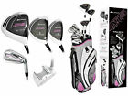 ORLIMAR PETITE LADIES 13pc ATS GOLF CLUB SET wBAG+DR+WOODS+HYBRIDS+IRONS+PUTTER