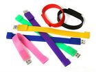 Colorful Bracelet USB 2.0 Memory Stick Flash pen Drive 4GB 8GB 16GB 32GB BUSB306