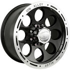 20x9 Black Alloy Ion Style 174  6x5.5 +0 Rims Nitto Trail Grappler 295/55/20