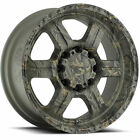 18x9 Camouflage V-Tec Off Road  5x4.5 +18 Rims Open Country AT II 275/65/18