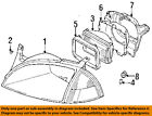 GM OEM Headlamp-Front Lamps-Retainer Ring Right 91172267