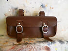 Old, vintage, retro style leather bicycle TOOLBAG, SADDLEBAG.