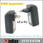 POE Injector for Hikvision CCTV IP Camera US/EU/AU Power Over Ethernet Injector