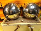 Vintage 30 - 32 FORD TWOLITE Stainless Steel Headlights