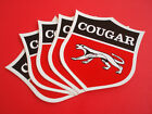 "VINTAGE 3"" DECAL QTY 5 (NOS) Ford Mercury Cougar XR7 Racing Windsor 351 Auto"