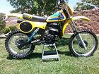 Suzuki : RM Vintage Suzuki 1980 RM125 RM 125 Race Ready Bike RM125T AHRMA Restored VMX