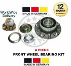 FOR BMW 3 SERIES COMPACT E46 2000 > 4 PIECE FRONT WHEEL BEARING HUB KIT