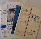 1971 177B Cardinal Original Owner's Manual/Pilot Saffety  Book/'71 Service Tips