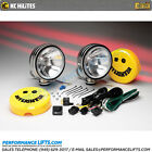 """KC HiLiTES 6"""" Daylighter Spread Beam Pair Pack Chrome # 633"""