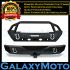 Rock Crawler Stubby Front+Rear Bumper+Hitch Receiver for 07-18 Jeep JK Wrangler