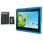"iRULU 7"" Kid's Tablets PC BabyPad 8GB Quad Core Android 4.4 Dual Cam w/ TF Card"