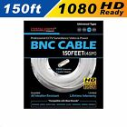 HD WHITE 150ft Power & Video Cable for Security CCTV use / LOREX / Swann / Qsee