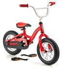 12 in Schwinn Balance Bike Unisex Boy's Girl's Kwickster, Red