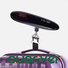 Portable 50kg/10g Digital LED Mini Electronic Luggage Hanging Weight Scale Black