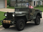 Willys: Jeep 1948 military willys jeep