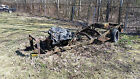 Willys: Pickup? Jeep? Wagon? no body 1950 s willys pickup or jeep station wagon frame with engine transmission