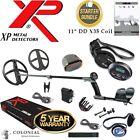 """XP Deus STARTER Bundle - WS4 Wireless + FX-02 Wired Headphones + 11"""" DD Coil"""