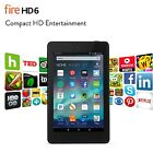 "Fire HD 6 Tablet 6"" HD Display Wi-Fi 8 GB - Includes Special Offers Black"