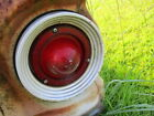 1963 FORD FALCON LEFT RIGHT TAILLIGHT HOUSING LENS W/O BACKUP LENS HAS DENTS