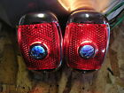 NEW REPLACEMENT PAIR OF BLUE DOT TAIL LIGHTS ASSEMBLIES FOR 1937 1938 CHEVROLET