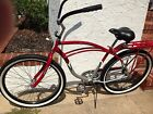 "Schwinn Windwood 26"" Red Cruiser Bicycle Bike Classic Mens"