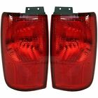 COUNTRY COACH LEXA ALEXANDRIA 2003 PAIR TAILLIGHTS OUTER LAMPS RV - SET