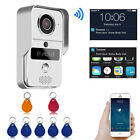 720P Wireless Wifi Video Doorbell IP Camera RFID Keyfobs Remote Intercom Unlock