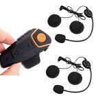 BT-S2 Bluetooth 1km Intercom Interphone Motorbike Headset FM+Free 1 Earphone