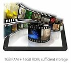 "Unlocked 7"" inch A33 Android 4.4 Tablet PC Quad Core WiFi CAMERA 8GB Black Hot"