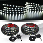 2 Pcs Truck Bed Light LED Light Strip Lamp Waterproof Lighting Kit On-Off Switch