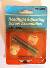 GM HEADLIGHT ADJUSTING SCREW ASSEMBLIES Dorman NOS  GMC CHEVY