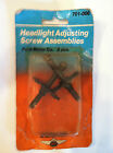 HEADLIGHT ADJUSTING SCREW ASSEMBLIES Dorman NOS  Ford Motor Co.