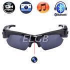 Spy HD 1080P Bluetooth Sunglasses Camera USB Pen Camcorder Glasses Headset DVR