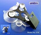 NEW Windshield Mount Bracket+6 Nice Suction Cups For The Uniden Radar Detectors