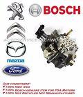 Bosch Common rail high pressure fuel pump Peugeot Citroen Ford Volvo Mazda Hdi