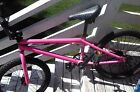 Factory Pink complete Haro X1 Bicycle BMX Bike 20in