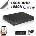 KKMOON 16CH Channel CCTV Video Recorder Onvif 1080N/720P NVR AHD HVR DVR 3in1