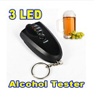 Portable Keychain Red Light LED Flashlight Alcohol Breath Tester Breathalyzer