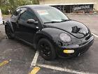 2001 Volkswagen Beetle-New Black Silver 2001 GLS TDI New Beetle 1.9 L Turbo Sporty Black Low Miles Nicely Restored