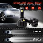 New 90W 11700LM D2S LED Headlight Kit For Genuine CREE LED Chip Bulb 6000K