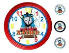 Thomas the Tank Engine Wall Clock - Personalized or unpersonalized