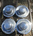 Vintage Chevrolet Center caps complete set of 4 used