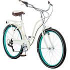 """26"""" Schwinn Fairhaven Women's 7-Speed Cruiser Bike, Cream"""