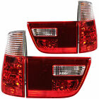 Rear Lights Set 4-Teilig BMW X5 E53 Built 99-03 red white chrome cristal