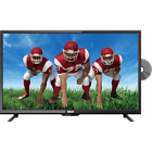 "RCA, 32"" 1080P FHD TELEVISION WITH BUILT IN DVD PLAYER"