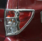 For Subaru Forester 2009-2012 Rear Tail Light Lamp Frame Bezel Cover Trim Chrome