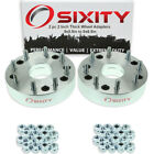 """2pc 2"""" 5x5.5"""" to 8x6.5"""" Wheel Spacers Adapters Pickup Truck SUV Thick Studs hb"""