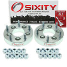 """2pc 1.25"""" Eagle 5x4.5"""" to 5x5.5"""" Wheel Spacers Adapters Talon Vision Loctite ve"""