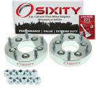 """2pc 1.25"""" Mitsubishi 5x4.5"""" to 5x5.5"""" Wheel Spacers Adapters 3000GT Diamante cc"""